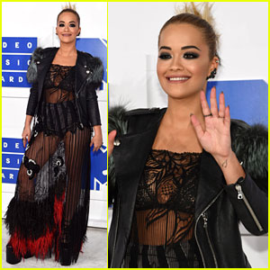 Rita Ora Rocks Sheer Look at MTV VMAs 2016