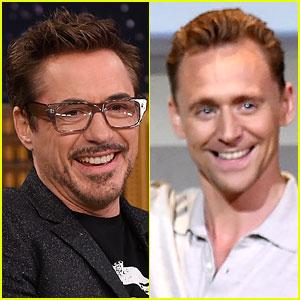 Robert Downey Jr. Welcomes Tom Hiddleston to Instagram with a Hiddleswift Joke