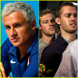 Ryan Lochte Gas Station 'Robbery' Video - Watch Security Cam Footage Here