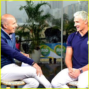 Ryan Lochte Will Discuss Rio Incident in Matt Lauer Interview