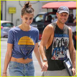 Taylor Hill Hangs With Boyfriend Michael Stephen Shank After Returning From Paris