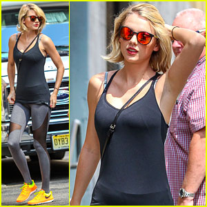 Taylor Swift Starts Weekend with Friday Morning Workout