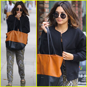 Vanessa Hudgens Starts Her Weekend Off with Early Morning Yoga