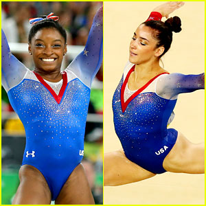 Watch Simone Biles & Aly Raisman's Floor Routines for Olympic Finals! (Video)