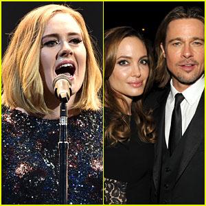 Adele Dedicates Concert to Brad Pitt & Angelina Jolie After Divorce News: 'It's the End of an Era'
