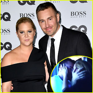 Amy Schumer & Boyfriend Ben Hanisch Have Fun Reaction to Mets Kiss Cam - Watch Now!