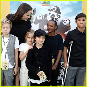 Angelina Jolie & Kids Move Into Rental Home After Divorce News