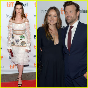 Anne Hathaway & Jason Sudeikis Premiere 'Colossal' at TIFF 2016