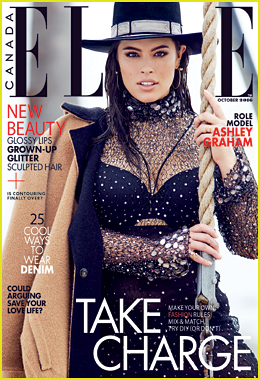 Ashley Graham Tells 'Elle Canada' We Are In The 'Body Era'!
