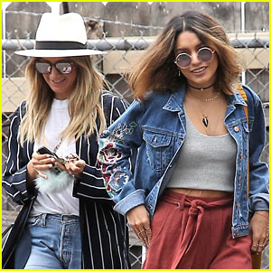Ashley Tisdale & Vanessa Hudgens Spend the Afternoon Shopping!