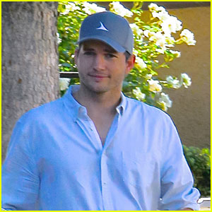 Ashton Kutcher Spotted on Coffee Run After Baby News