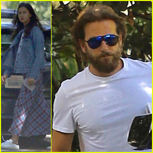 Bradley Cooper & Irina Shayk Enjoy Their Saturday Morning Together!