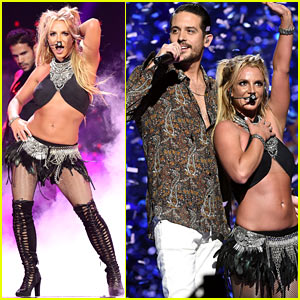 Britney Spears Slays On Stage at iHeartRadio Music Festival