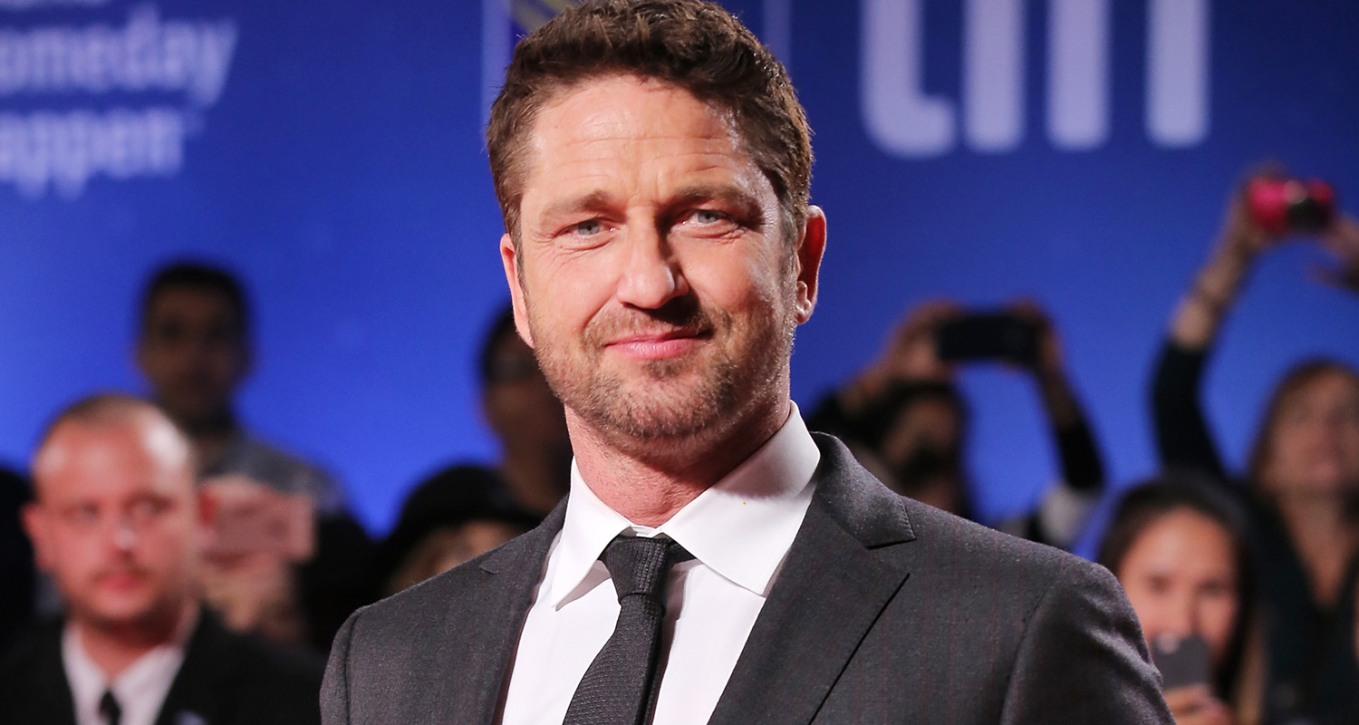 Gerard Butler Suits Up For 'The Headhunter's Calling' TIFF ... Gerard Butler 2016