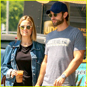 Chace Crawford & Rececca Rittenhouse Step Out for a Breakfast Date!