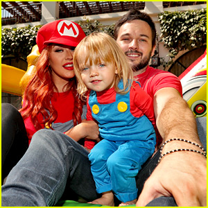 Christina Aguilera Celebrates Daughter's Birthday with Super Mario Bros. Party!