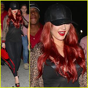 Christina Aguilera & Pals Catch Drake & Future Concert!