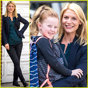 Claire Danes Shoots 'Homeland' Scenes With Her New On-Screen Daughter