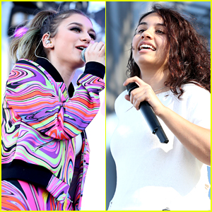 Daya & Alessia Cara Perform at iHeartRadio Festival's Daytime Village
