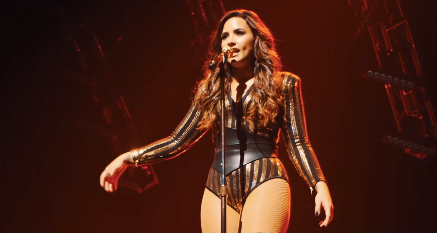 Demi Lovato Shares Live Performance Vid of 'Body Say' – Watch ...