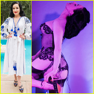 Dita Von Teese Performs at Hamptons 'Labor of Love' Fundraiser