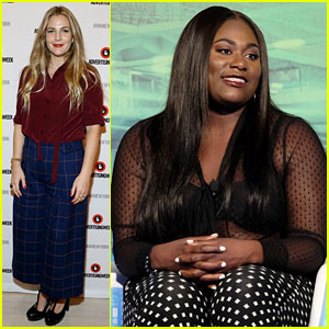 Drew Barrymore & Danielle Brooks Speak at Advertising Week Panels