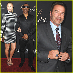 Eddie Murphy Brings Paige Butcher To 'Mr. Church' Premiere in Hollywood