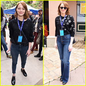 Emma Stone on Working With Ryan Gosling: 'He's My Buddy'
