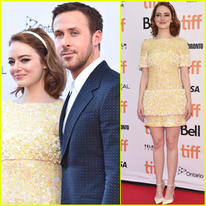 Emma Stone & Ryan Gosling Premiere 'La La Land' at TIFF 2016