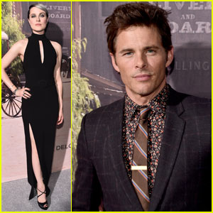 Evan Rachel Wood & James Marsden Premiere HBO's 'Westworld' in Hollywood
