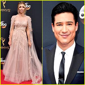 Giuliana Rancic, Mario Lopez, & TV Hosts Kick Off Emmys 2016 Red Carpet!