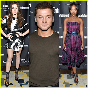 Hailee Steinfeld, Aja Naomi King & Taron Egerton Party at TIFF with Entertainment Weekly