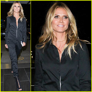 Heidi Klum is Already Getting Her Halloween Costume Ready!