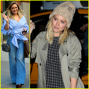 Hilary Duff Gets Ready to 'Rumble' with Trainer Noah Neiman