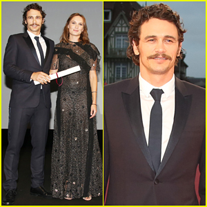 James Franco Continues 'In Dubious Battle' Press At Deauville American Film Festival!