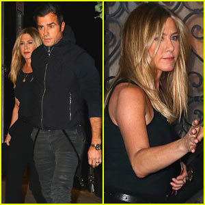 Jennifer Aniston Steps Out After Brad & Angie Divorce News