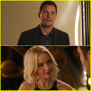 Jennifer Lawrence & Chris Pratt Star in 'Passengers' Trailer - Watch Now!