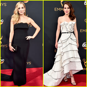 Joanne Froggatt & Michelle Dockery Go Classy at Emmys 2016!