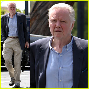 Jon Voight is Ready for Business While Out & About in Bel-Air