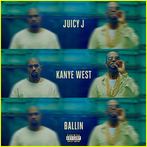 Juicy J & Kanye West Debut 'Ballin' Music Video - Watch Now!