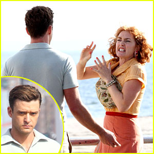 Justin Timberlake Gets Into Heated Fight with Kate Winslet for Woody Allen Movie