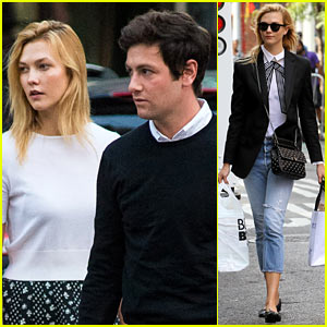Karlie Kloss & Joshua Kushner Enjoy a Friday Dinner Date!