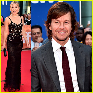 Mark Wahlberg & Kate Hudson Walk the TIFF Carpet for 'Deepwater Horizon' Premiere!