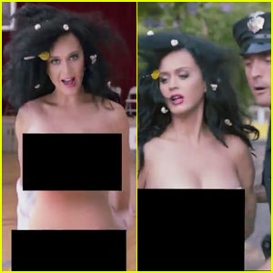 Katy Perry Strips Down to Vote, Gets Arrested in Funny Video - Watch Now!