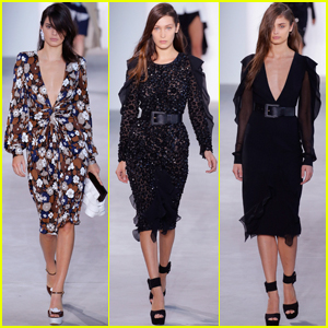 Kendall Jenner, Bella Hadid & Taylor Hill Rock the Michael Kors Runway