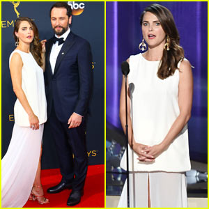 Keri Russell & Matthew Rhys Couple Up at Emmys 2016