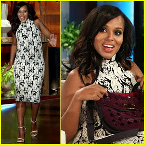 Kerry Washington Won't Reveal Baby Names She's Considering!