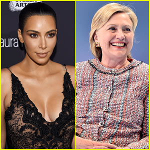Kim Kardashian Confirms Support for Hillary Clinton