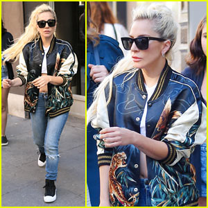 Lady Gaga Hits the Recording Studio After 'Joanne' Announcement