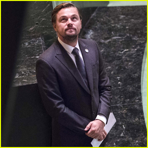Leonardo DiCaprio & Michael Douglas Commemorate International Day of Peace